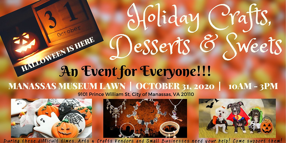 Old Town Manassas Holiday Crafts, Desserts & sweets