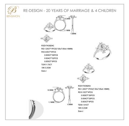 REMODEL 20YRS MARRIAGE 4 CHILDREN