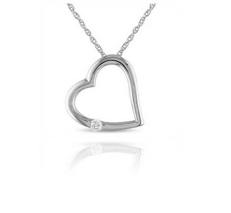 AMOUR SOLITAIRE NECKLACE
