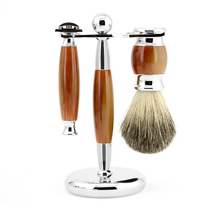 HIPSTER OR HASSID SHAVING SET