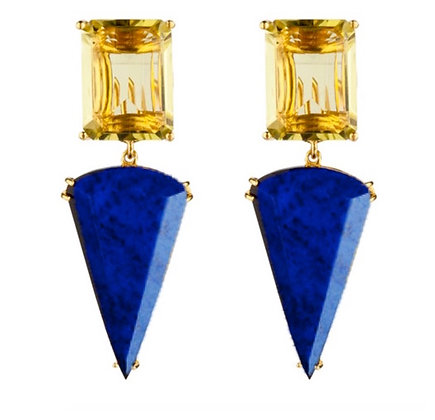 LAPIS OF LUXURY EARRINGS