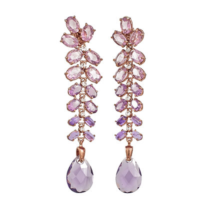 CEASAR'S GRAPES EARRINGS