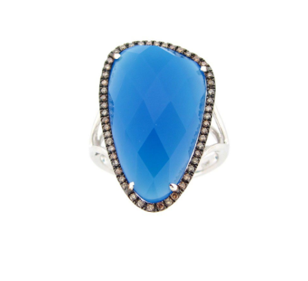 AGATE OF LUXURY RING