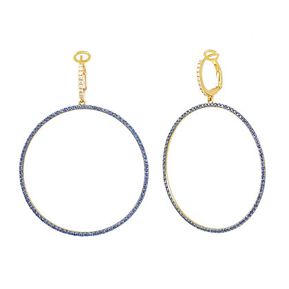 SAPPHIRE DREAMS EARRINGS