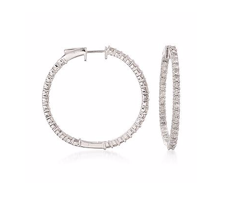 SIMPLE STYLE HOOPS EARRINGS