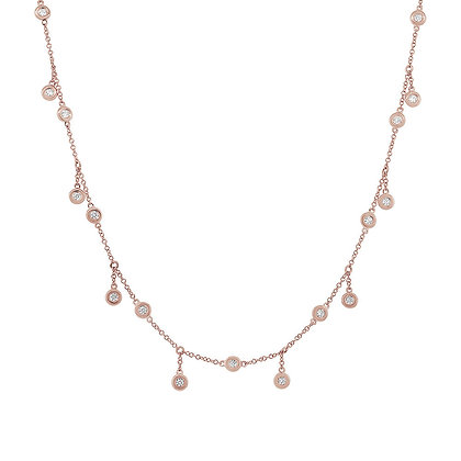 PRIVATE DANCER ROSE NECKLACE