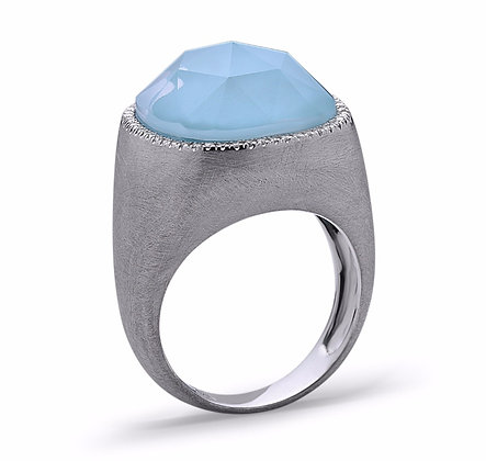 BABY LOVES BLUES RING