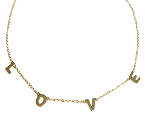 MUST BE  LOVE NECKLACE