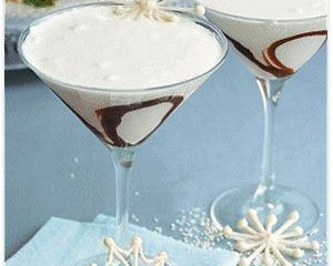 Winter Wonderland White Chocolate Martini