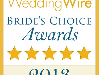 Wedding Wire Winner Couples Choice Awards 2014