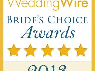 Wedding Wire Winner Couples Choice Awards 2014