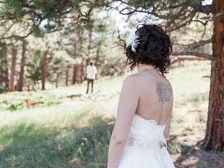 Summer Wedding in Estes Park