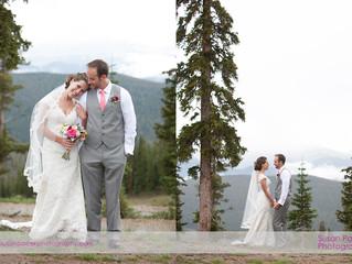 Misty Mountain Wedding Timber Ridge Keystone, Colorado