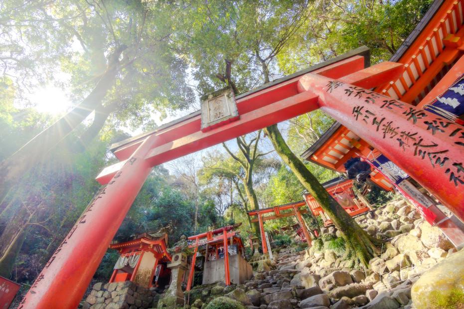 Yutoku Inari Shrine, Saga/佐賀県鹿島市祐徳稲荷神社
