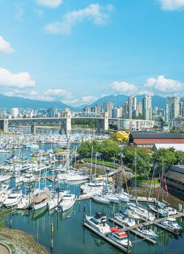 From Granville Bridge, Vancouver, BC,Canada