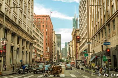 Downtown Los Angeles, California/カリフォルニア州・ロサンゼルス・ダウンタウン