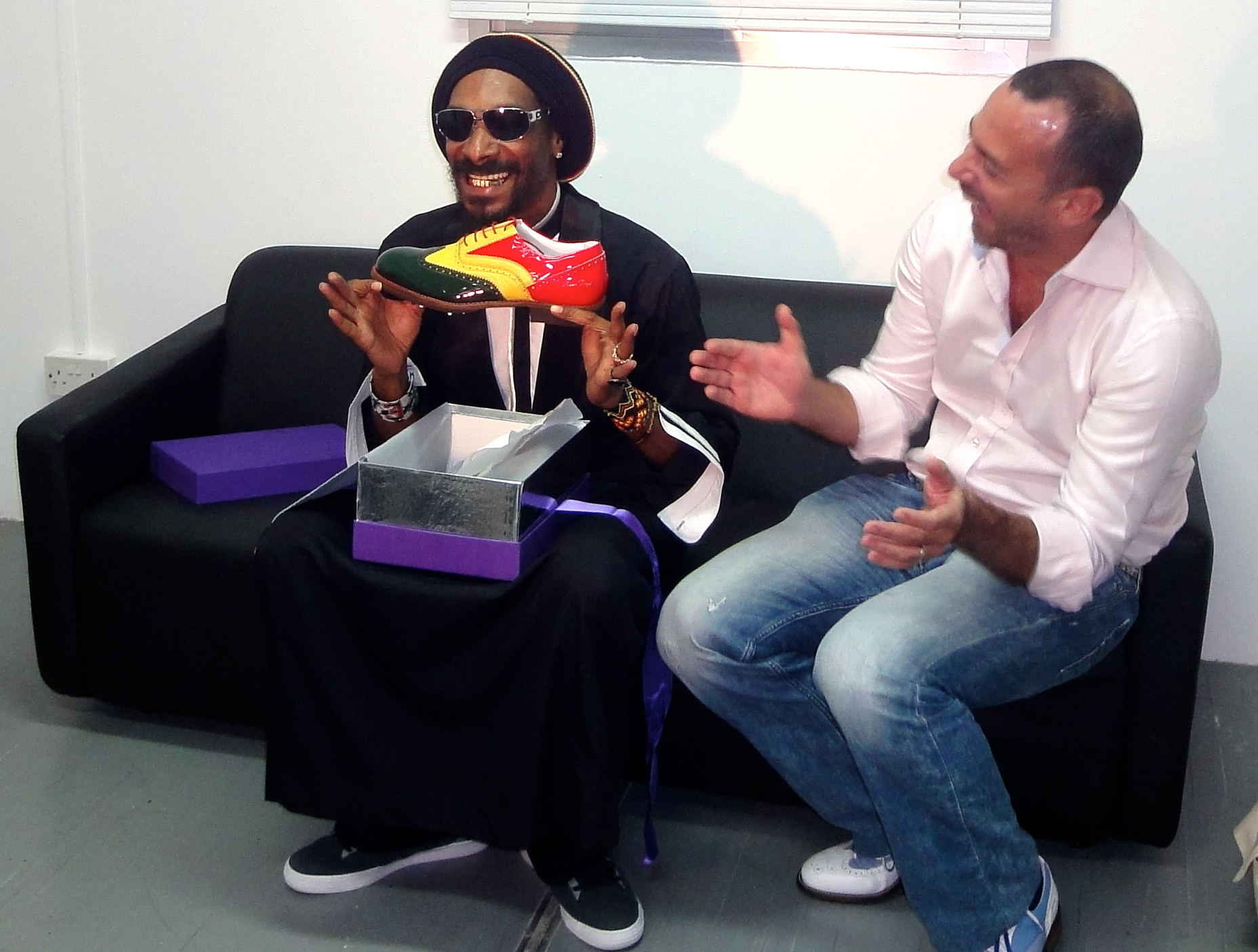 Snoop Dogg and Steven Alexander