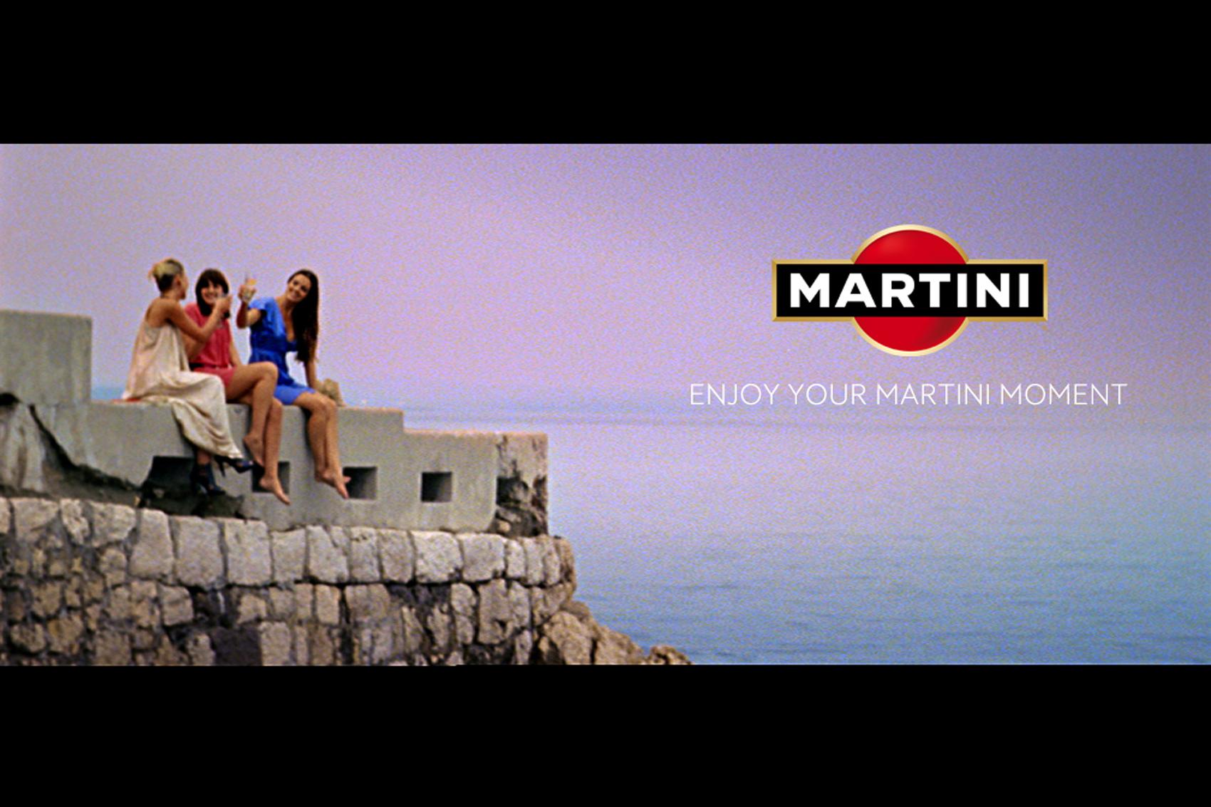 Martini Moments campaign