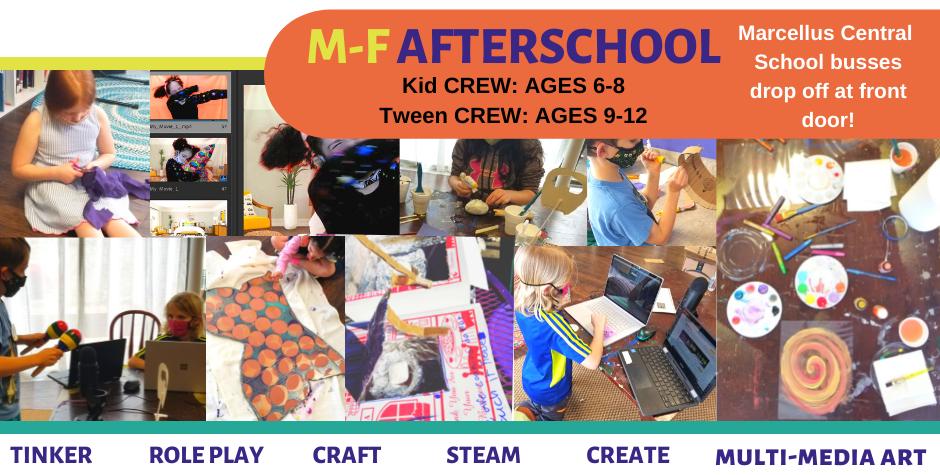 """Afterschool: """"Get Creative!"""" CREWs"""