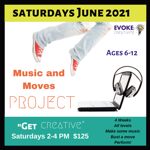 """Music & Moves: A """"Get Creative!"""" Project"""