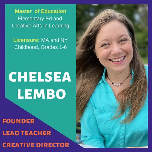 chelsea lembo founder lead teacher creat
