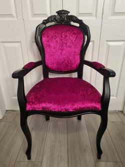 Fuschia Salon Chair