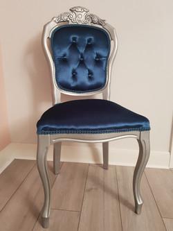 Teal Glam Chair