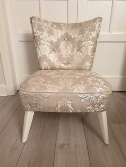 Damask Bedroom Chair