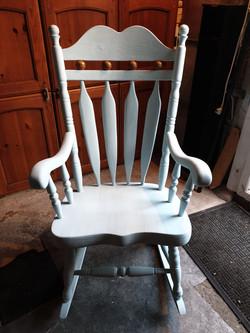 Duck Egg Rocking Chair