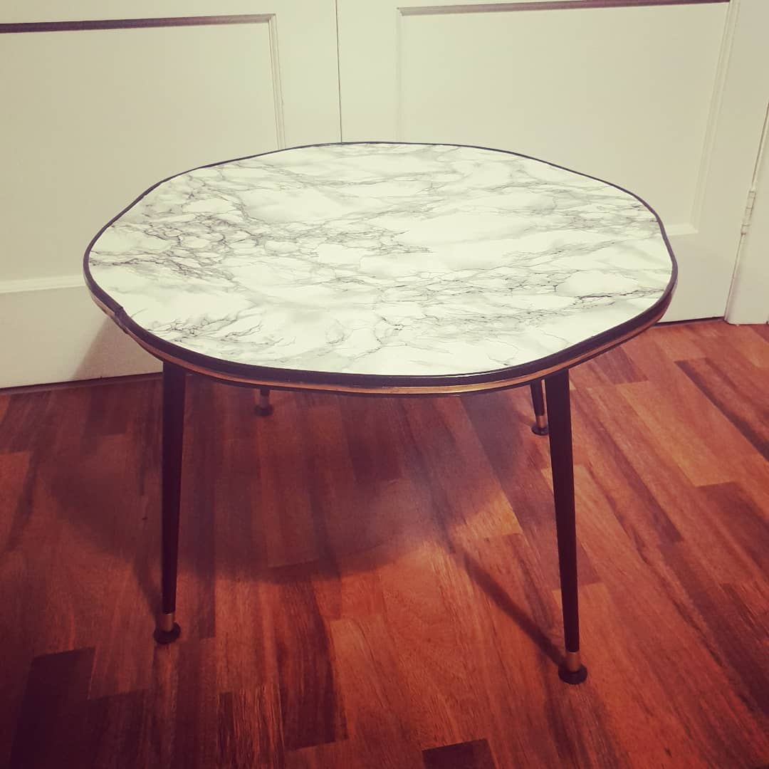 Marble Table - SOLD