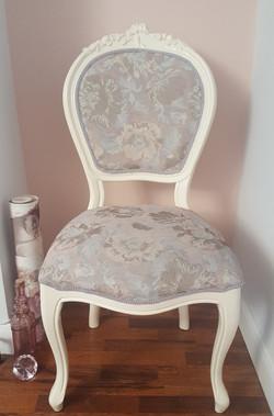 Soft Floral Balloon Chair