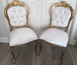 2 Wedding Chairs