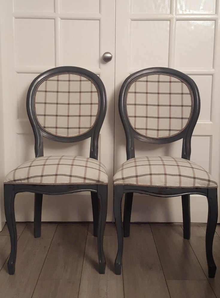 Grey Chairs - SOLD