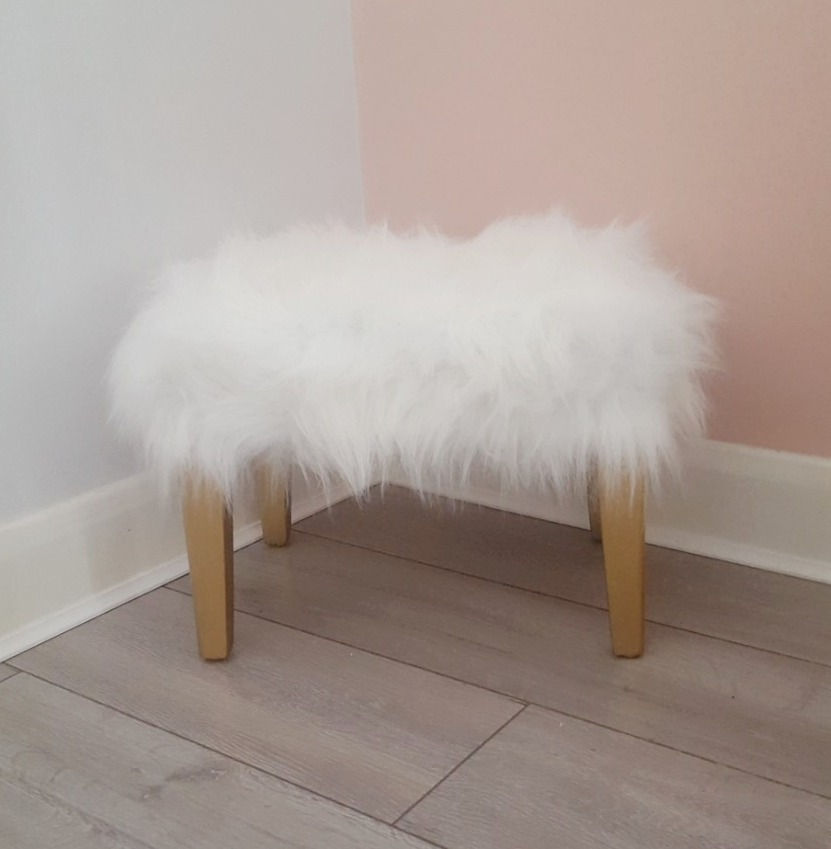 Fluffy Stool - SOLD