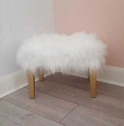 Fluffy Chic Stool
