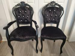 Black Salon Chairs