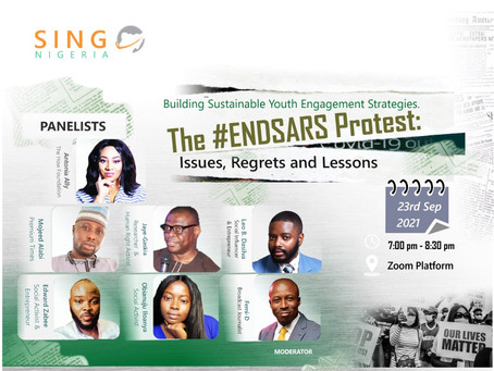 Antonia Ally Joins Difficult Discussion on EndSars; Issues, Regrets and Lessons.