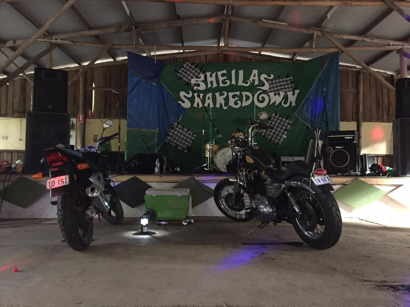 SHEILAS SHAKEDOWN