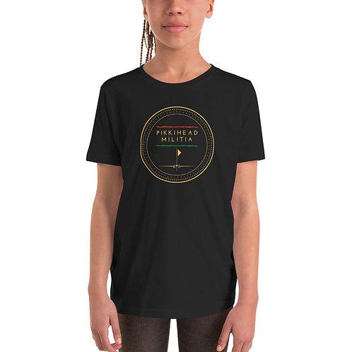 Youth Pikkihead Militia Logo T-Shirt