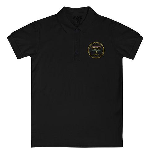 Pikkihead Militia Embroidered Logo Women's Polo Shirt
