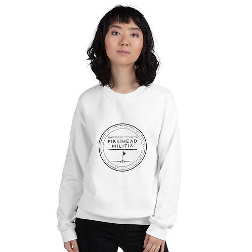 Unisex Pikkihead Militia Black Logo Sweatshirt
