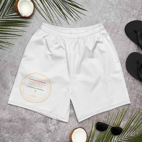 Unisex Pikkihead Militia Athletic Long Shorts