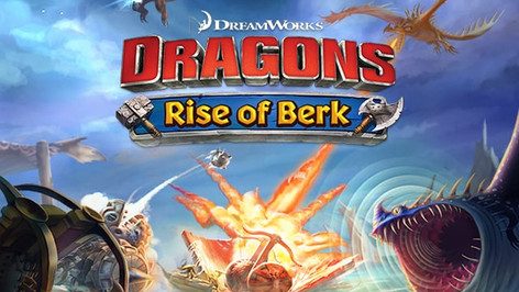 How To Train Your Dragon: Rise Of Berk Game Teaser