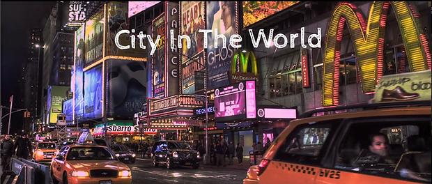 "Short film ""City In The World: Manhattan"""