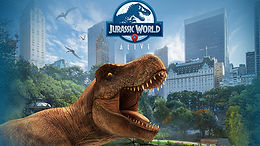 Jurassic World: Alive, a location-based augmented reality game!
