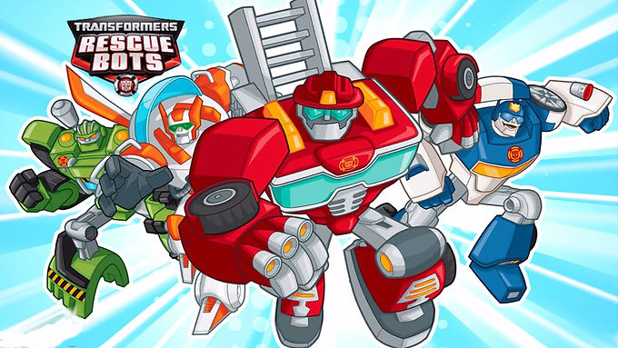 Transformers Rescue Bots_Hero Adventures is out!