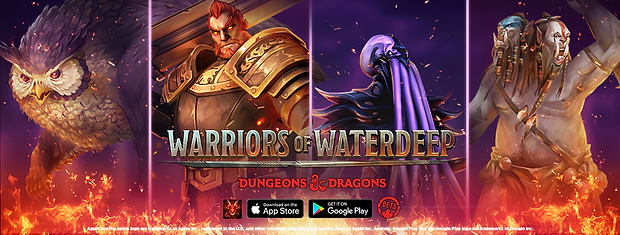 """""""Warriors of Waterdeep"""" is now available worldwide!"""