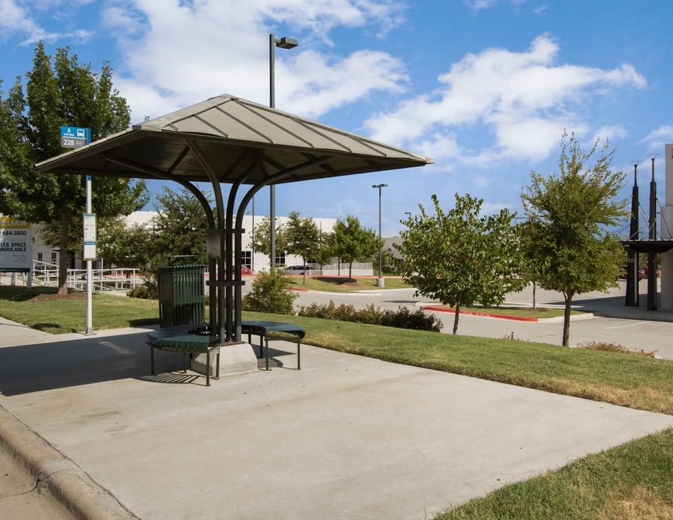MetCenter Bus Stop