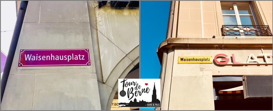 Tour de Berne – 4. Etappe - Die farbigen Gassenschilder