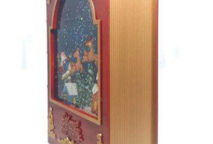 Enfeite Decorativo Livro natal Musical luminoso WINCY NATAL